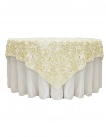 3D Rosettes wedding table covers cloth one unit (50cm*140cm) price