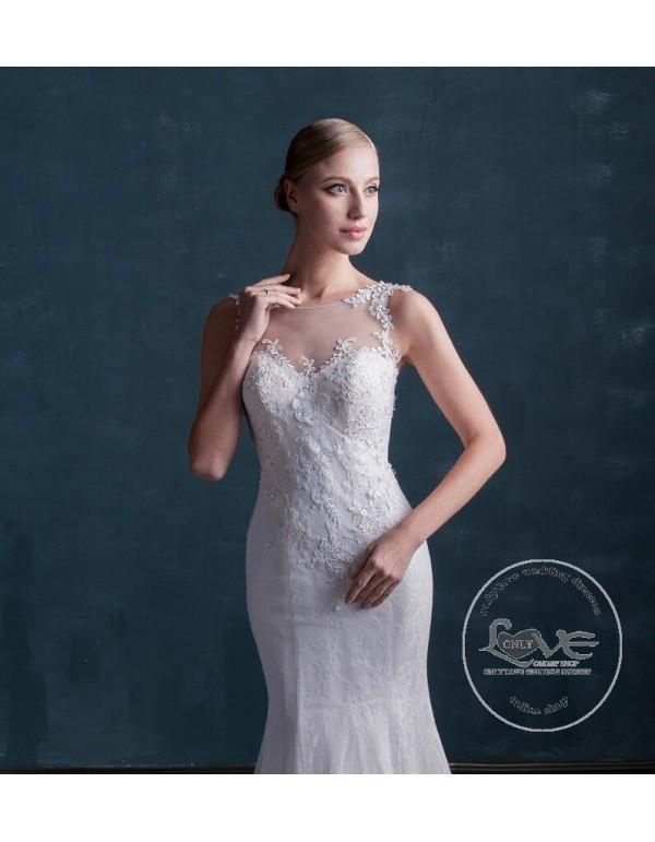 MS Clothes Blue Wedding Dresses