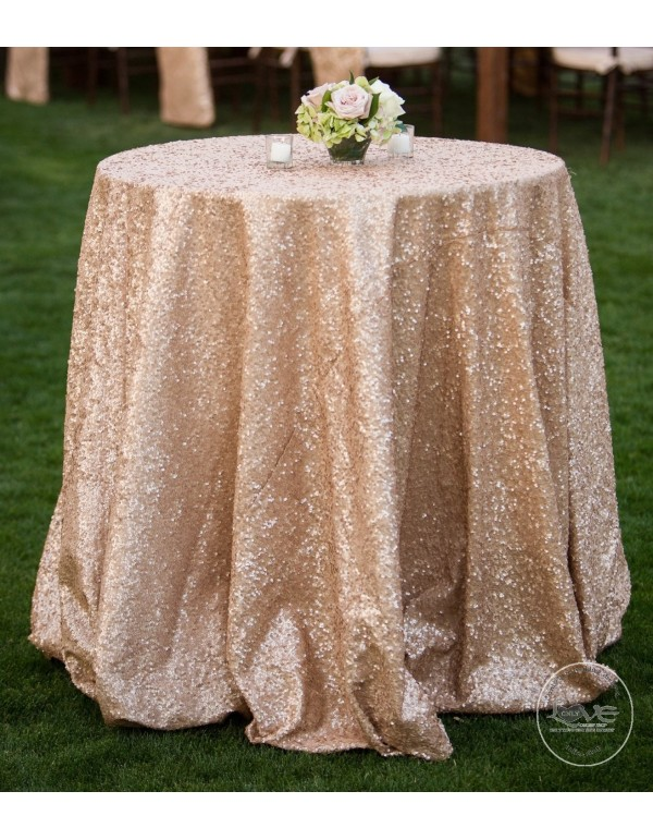 ... 55 Inches Red Blue Gold Pink Black Sliver Champagne Yellow Purple  Sequins Tablecloth Table Covers Runners