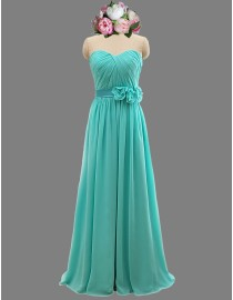 Awesome sweetheart turquoise blue bridesmaid dresses SB-065